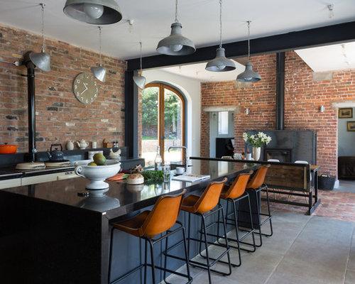 10 Best Industrial Kitchen with White Appliances Ideas & Photos ...