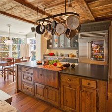 Rustic Kitchen by Platt Architecture, PA