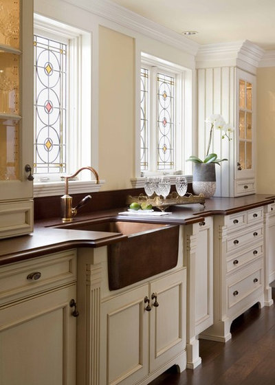 American Traditional Kitchen by Venegas and Company