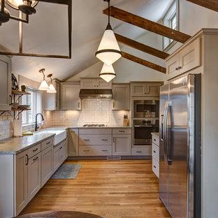 Chestnut Kitchen Cabinets Houzz