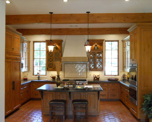 Golden Oak Cabinets Home Design Ideas Pictures Remodel And Decor