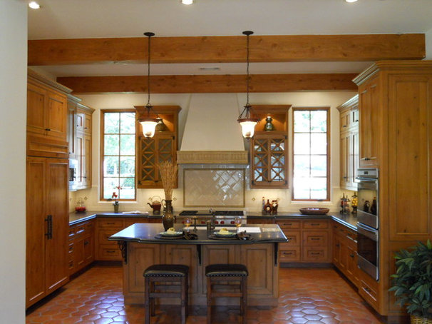 Rustic Kitchen by Jewel Box Homes - Robert Latham, GMB