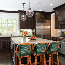 Transitional Kitchen by Kemper Interiors