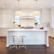Traditional Kitchen by Thomson & Cooke Architects pllc