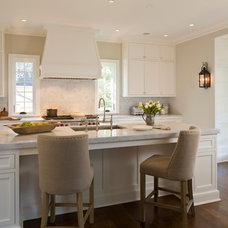 Traditional Kitchen by Anne Decker Architects, LLC