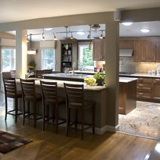 Eclectic Kitchen by SAI Contracting