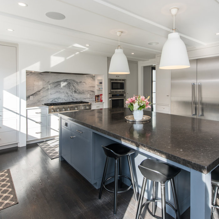 Chevy Chase, MD Contemporary Open Kitchen