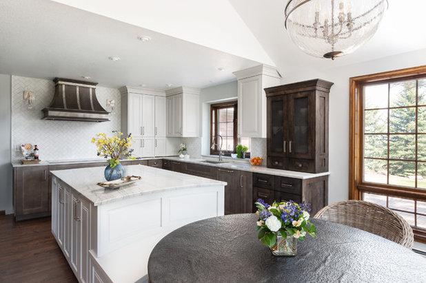 Midcentury Kitchen by Raw Urth Designs