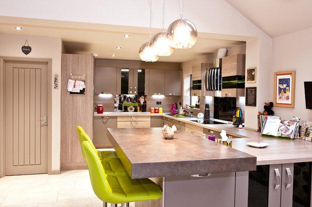 Contemporary Kitchen By Yasmin Chopin Interior Design