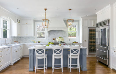 Kitchen of the Week: Chic Cooking Space for an Avid Home Chef