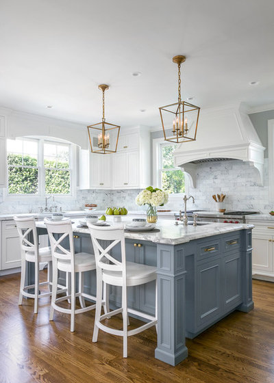 Traditional Kitchen by Christine Sheldon Design