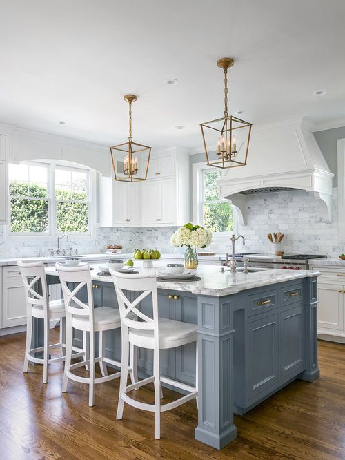 Traditional kitchen ideas   Example of a classic l shaped kitchen design in  San Francisco25  Best Kitchen Ideas   Remodeling Photos   Houzz. Kitchen Designs Com. Home Design Ideas