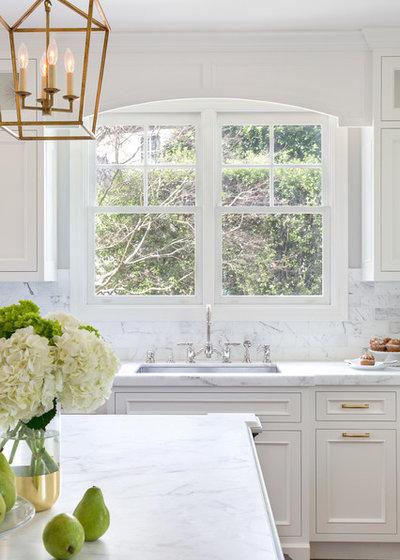 Traditional Kitchen by Christine Sheldon Design