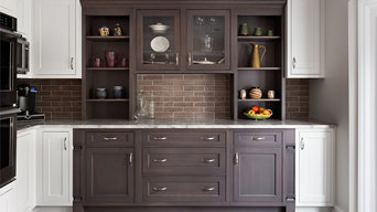 Chic, Luxe-Transitional, Striking Kitchen Expansion