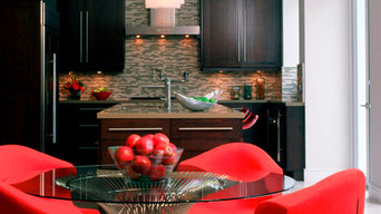 Chic Red and Black