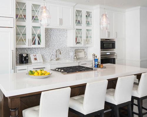 Best Caesarstone Organic White Design Ideas & Remodel Pictures   Houzz