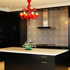Eclectic Kitchen by Le Mosaiste