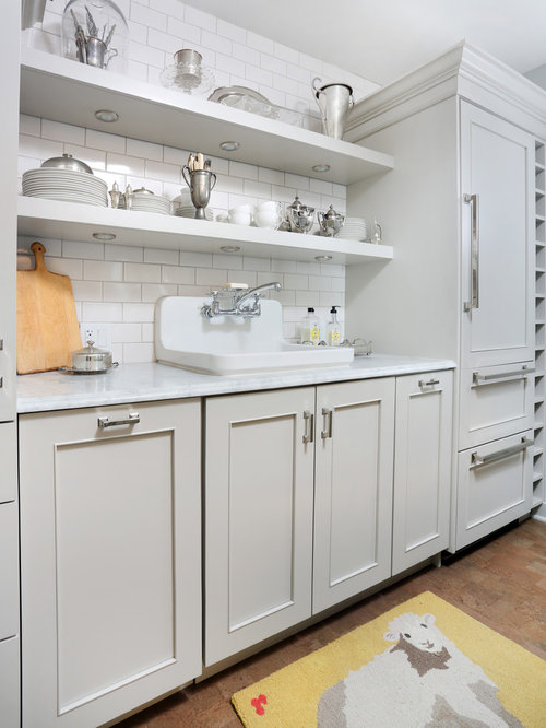 Shelves Above Sink Houzz