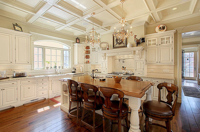 Eclectic Kitchen by Greenside Design Build LLC