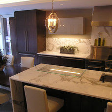 Contemporary Kitchen by Modern Millwork Innovations