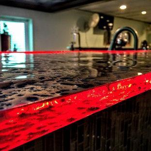 Chicago glass countertops