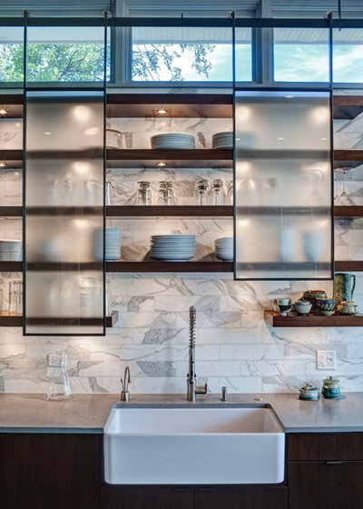 Contemporain Cuisine by FRICANO CONSTRUCTION CO