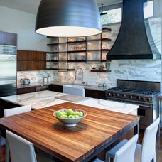 Contemporary Kitchen by FRICANO CONSTRUCTION CO