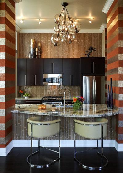 Stunning Contemporary Kitchen by Kamarron Design Inc