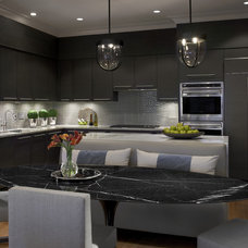 Transitional Kitchen by Handman Associates