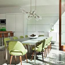 Contemporary Kitchen by Stephanie Wohlner Design