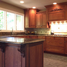 Traditional Kitchen by MONARCH Kitchen and Bath