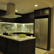 Asian Kitchen by Arkitec2ra Design Group