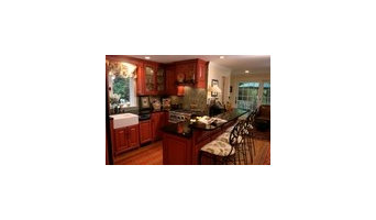 Chinese Red Kitchen