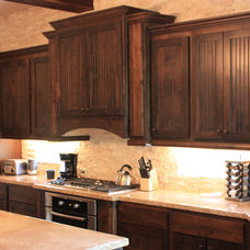 Traditional Kitchen by Arizal Woodworks Inc.