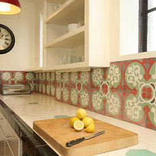 eclectic kitchen by Design Vidal