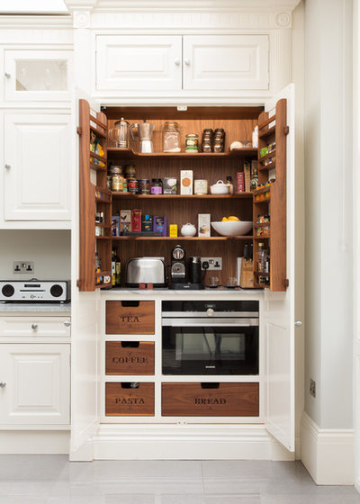 American Traditional Kitchen by Hughes Developments