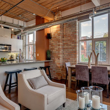 Industrial Kitchen by The Graces - ReMax Hallmark Realty