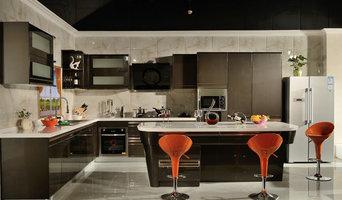 Chocolate Metallic Paint Kitchen
