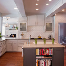 Contemporary Kitchen by Paula Ables Interiors