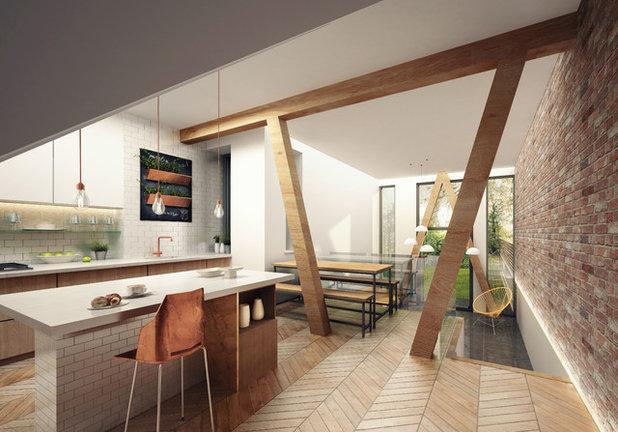 Scandinavian Kitchen by Guy Taylor Associates