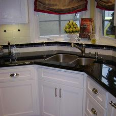 Traditional Kitchen by Chris Merenda-Axtell Interior Design