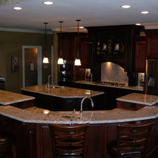 Traditional Kitchen by Chris's Custom Cabinets - Jackie Cox
