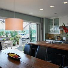 Modern Kitchen by Christian Rice Architects, Inc.
