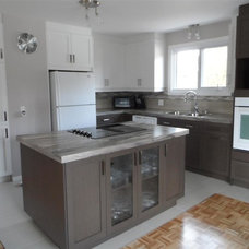 Modern Kitchen by Armoires Cuisines Action