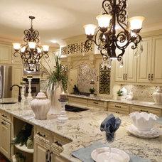 Traditional Kitchen by Christina Ray Design, LLC