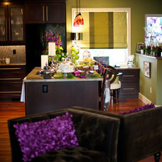 Contemporary Kitchen by Marie Hebson's interiorsBYDESIGN Inc.