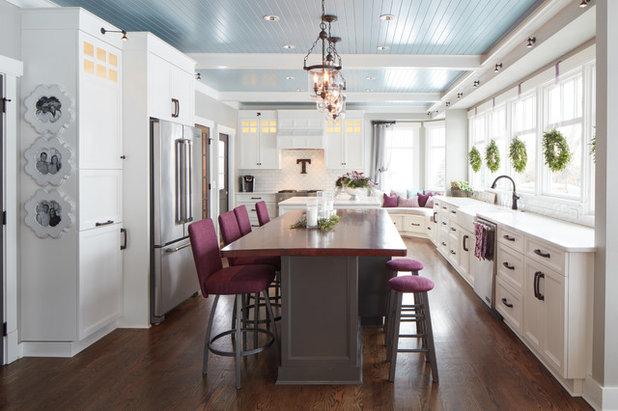 American Traditional Kitchen by jh Interior Design Studio