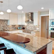 Contemporary Kitchen by Arnett Construction LLC