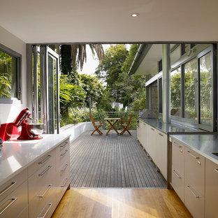 Indoor Outdoor Kitchen | Houzz