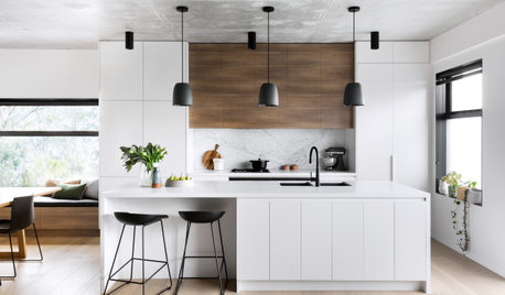Room of the Week: A New Bright & Sophisticated Apartment Kitchen